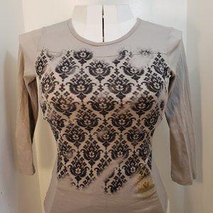 "42/$40 Ezekiel M shirt 3/4"" sleeves top nice new"